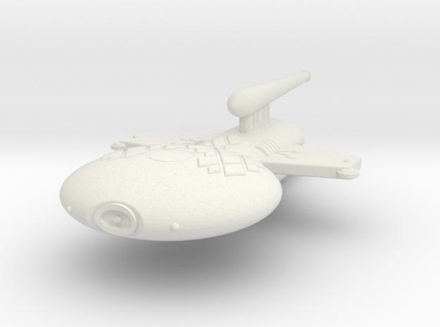 3125 Scale Gorn Megalosaurus+ Light Cruiser (CL) in White Natural Versatile Plastic