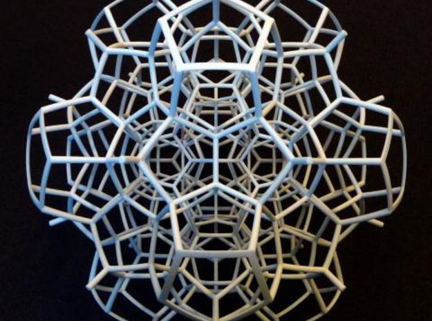 Half of a 120-cell (Large) 3d printed 2 fold symmetry axis.