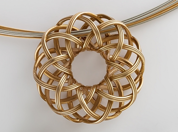 Rosa-8c3x (from $15) in 14k Rose Gold Plated Brass