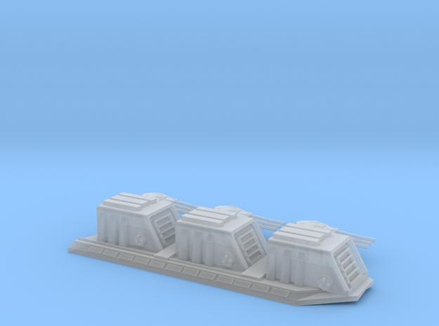 RC Devastator-dorsal-turrets split in Smooth Fine Detail Plastic