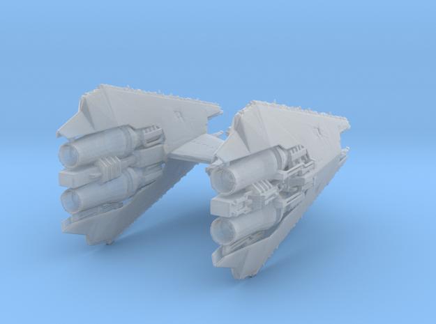 Narn Regime T'Loth Assault Cruiser 43mm in Smooth Fine Detail Plastic