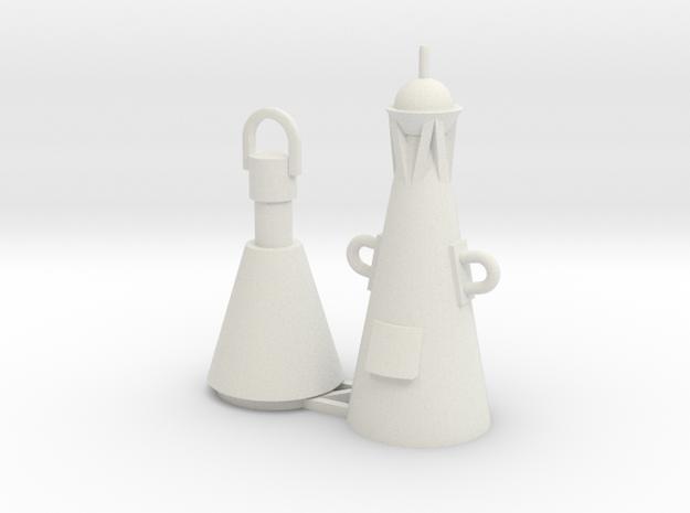 Spitztonne / Buoy 1:50/40/32/25/20 in White Natural Versatile Plastic: 1:50