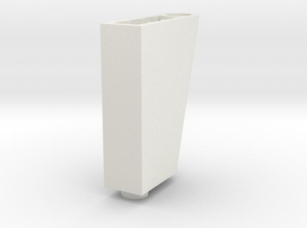 LEGO RUDDER BLOC 2 in White Natural Versatile Plastic