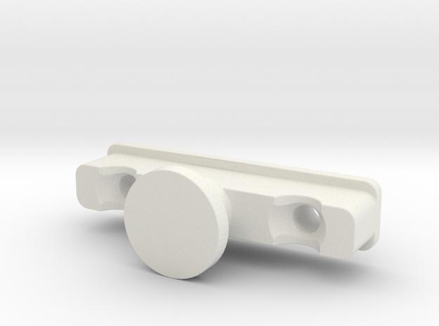 Ikea KVARTAL glider/slider (male) in White Natural Versatile Plastic