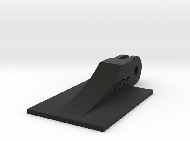 SmartPhone GoPro Mount Adapter (Forward Tilting) in Black Natural Versatile Plastic