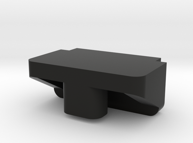 IMPRIMO - Full Version (Printable Battery Clip) in Black Natural Versatile Plastic