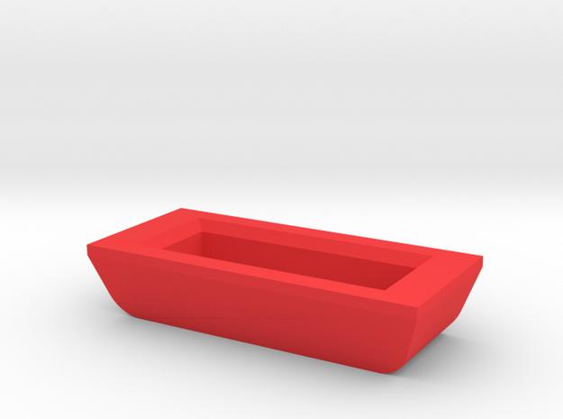 IMPRIMO - Full Version (Printable Rear Lock) in Red Processed Versatile Plastic