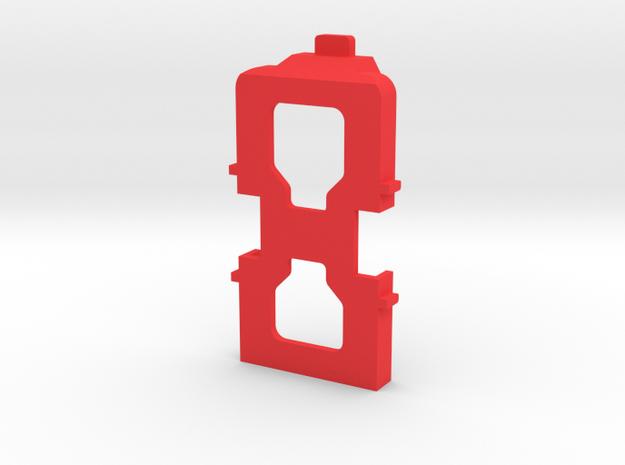 IMPRIMO - CF Version (Printable VTX Deck) in Red Processed Versatile Plastic
