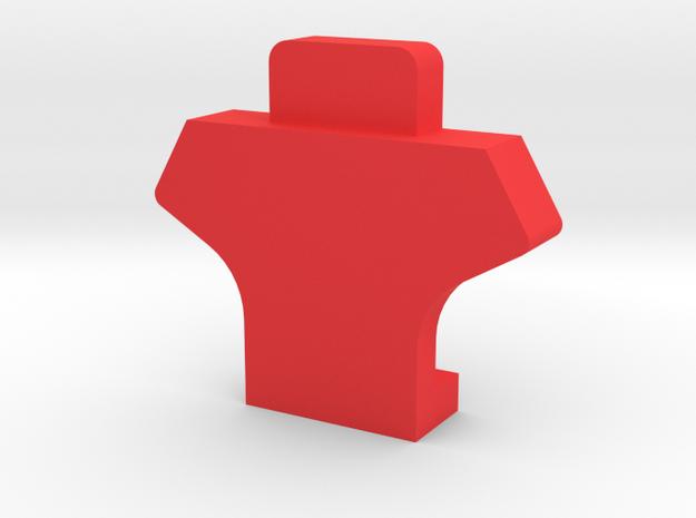IMPRIMO - CF Version (Printable Head) in Red Processed Versatile Plastic