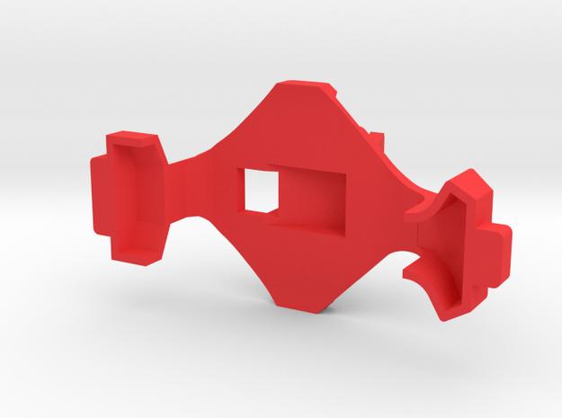 IMPRIMO - CF Version (Printable Canopy Type B) in Red Processed Versatile Plastic