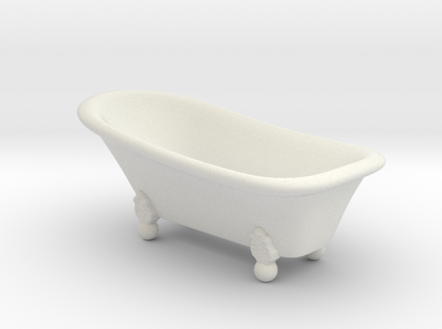Classic bathtube 01. 1:24 Scale