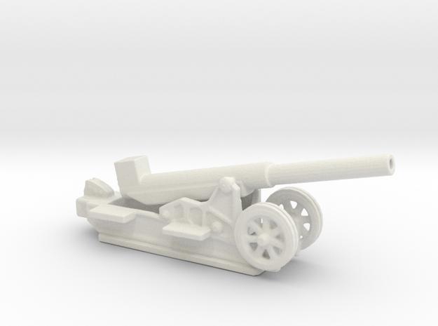 Canon 220L Schneider Model 1917 1/144 ww1 artiller in White Natural Versatile Plastic