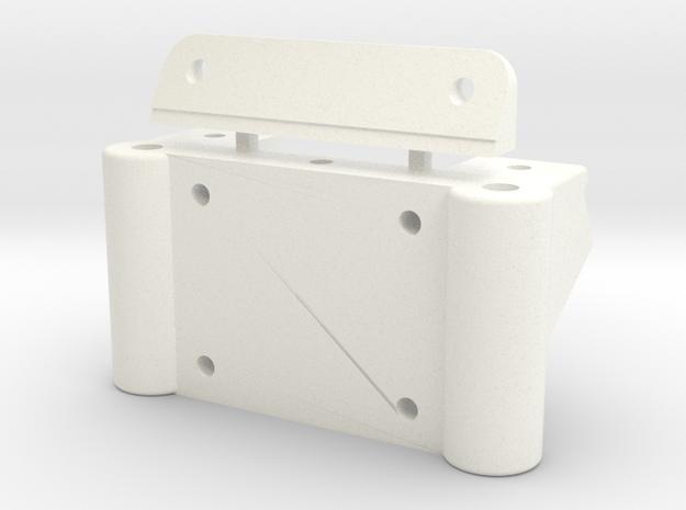 91 STEALTH FRONT BULKHEAD, 3/5/18 in White Processed Versatile Plastic