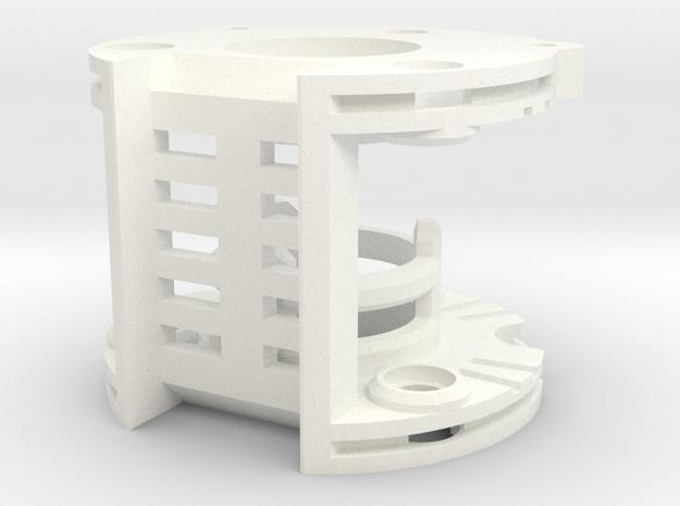 DV6 - Part (3/7) ChamberV1 in White Processed Versatile Plastic