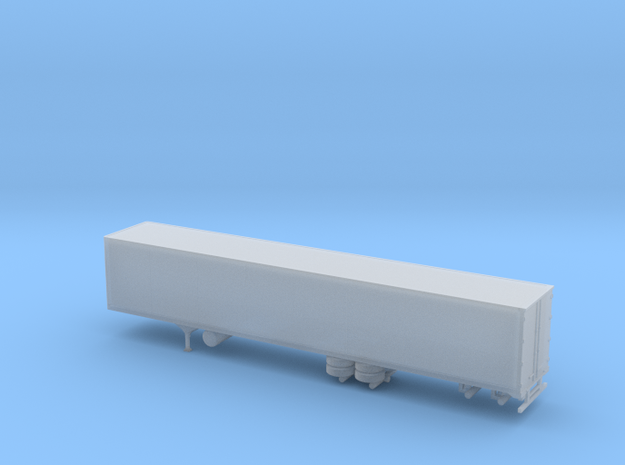 1/220 53 Semi Trailer in Frosted Ultra Detail