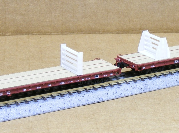 MOW Rail Frames - Nscale 3d printed Photo by Jeff King