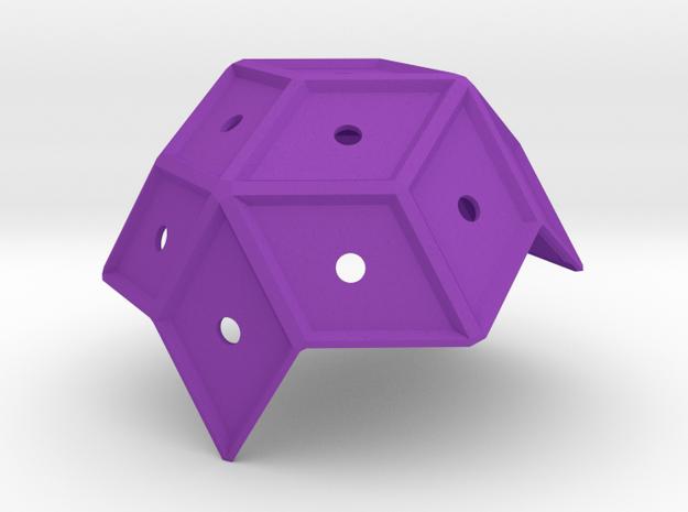 Pentasmaround_1 in Purple Processed Versatile Plastic