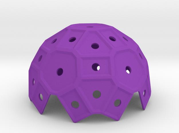 Pentaround_1 in Purple Processed Versatile Plastic
