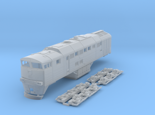 2TE-116 N Scale in Smooth Fine Detail Plastic