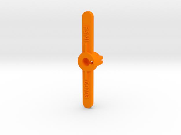 PSNI00103 body adapter for Ninco Prsche 911 GT3 in Orange Processed Versatile Plastic