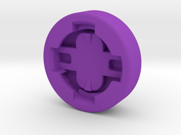 Garmin Plug to FLY6ce Adapter in Purple Strong & Flexible Polished