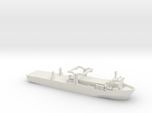 1/700 MV Contender Bezant Falklands in White Natural Versatile Plastic