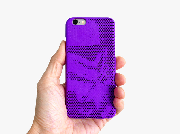 iPhone 6S case_Stormtroopers in Purple Strong & Flexible Polished
