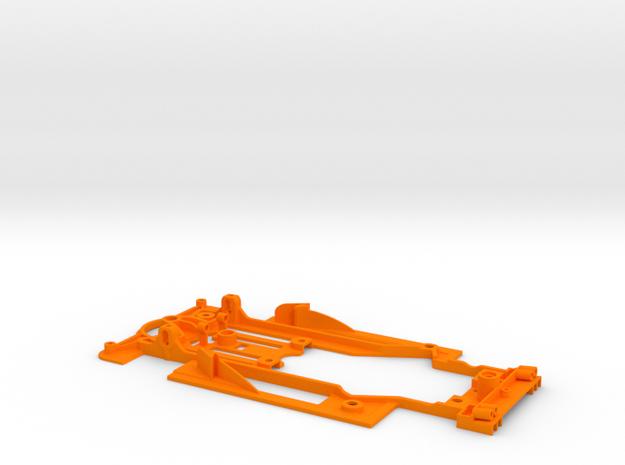 SC-9102i Chasis V12 EVO lightweight std guide RT3  in Orange Processed Versatile Plastic