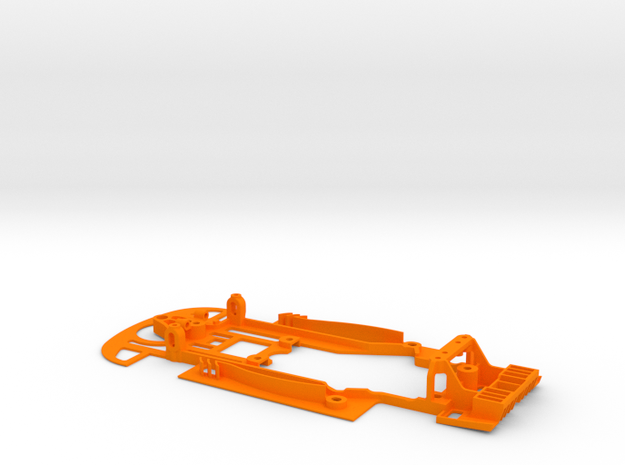 SC-9101d Chasis S7R evo lightweight for RT3  in Orange Strong & Flexible Polished