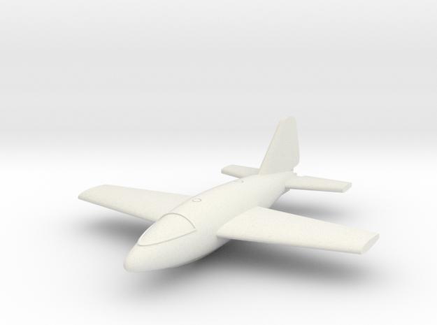 (1:144) von Braun VTO first version in White Natural Versatile Plastic