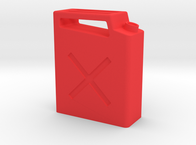Jerry Can V4 in Red Strong & Flexible Polished