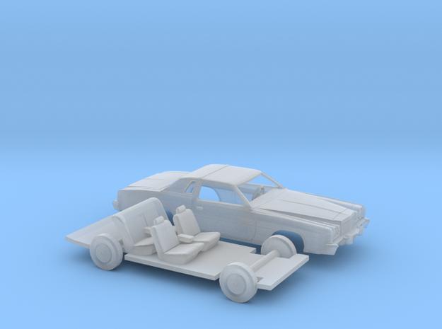 1/87 1975-77 Chrysler Cordoba Kit in Smooth Fine Detail Plastic
