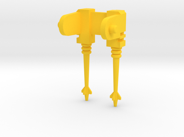 VENOM Thunderball laser gun. (7 of 8) in Yellow Processed Versatile Plastic