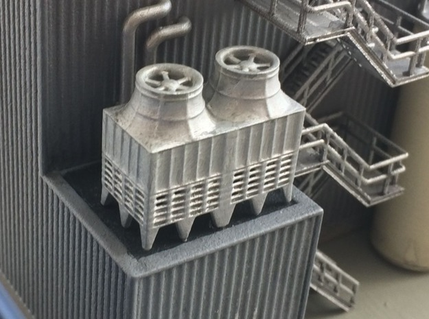 N Industrial Chiller 2 in Smooth Fine Detail Plastic