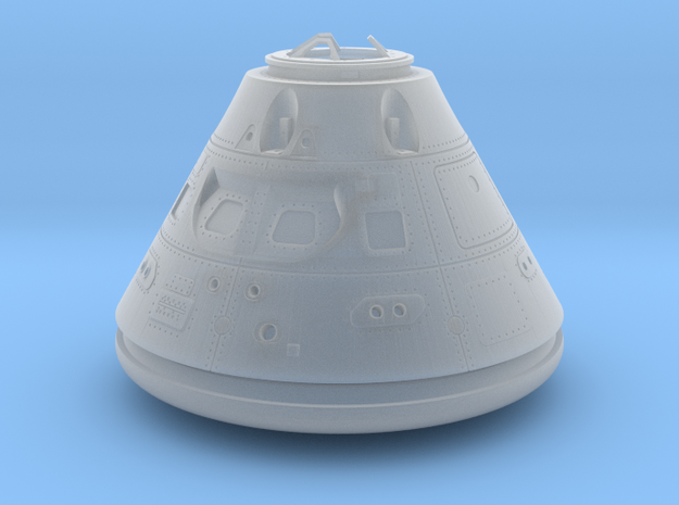 Orion Crew Module (CM) 1:144 No Tiles in Smoothest Fine Detail Plastic