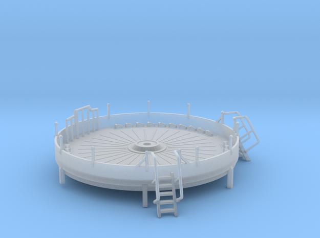 144_Alternate_4_Inch_Gun_Tub in Frosted Ultra Detail