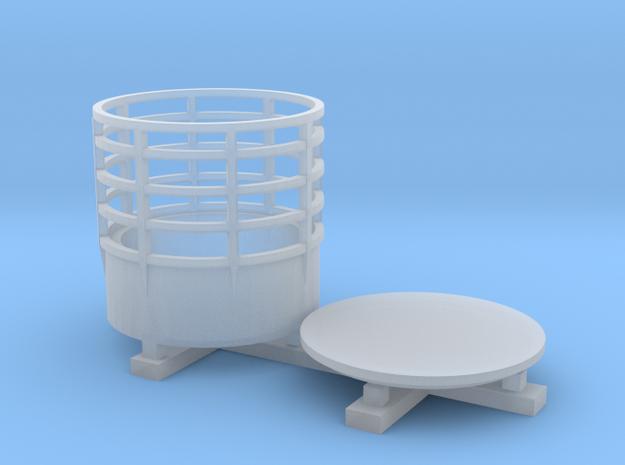 144_Round_Radar_Lantern in Smooth Fine Detail Plastic