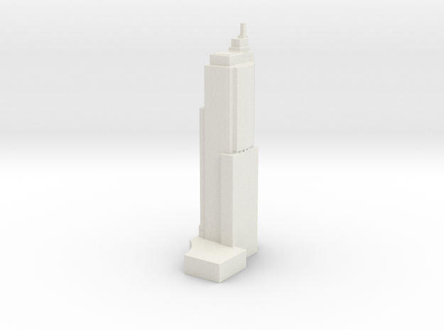 Chifley Tower - Sydney (1:4000) in White Natural Versatile Plastic