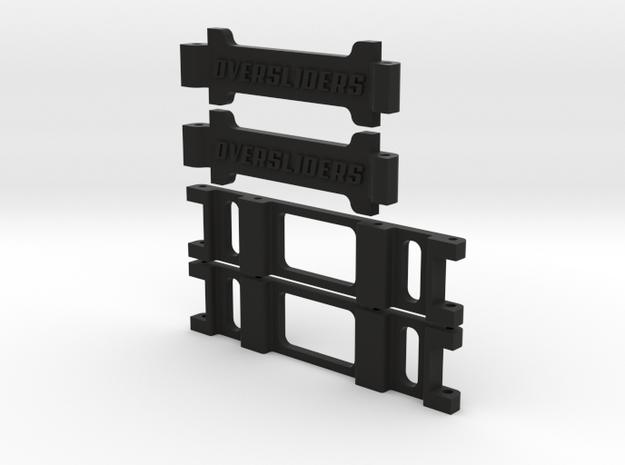 HIKOTECH BIANCA BRICK TRAY in Black Natural Versatile Plastic