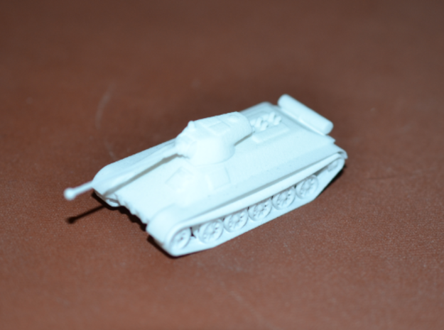 1/100 SBI Medium Tank Destroyer in White Natural Versatile Plastic
