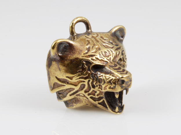 Fire Bear Pendant