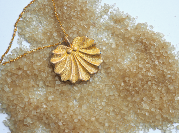Seashell Fan Pendant