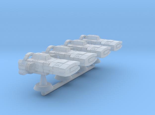 Theodosius Class Strike Cruiser -1:20000 in Smooth Fine Detail Plastic