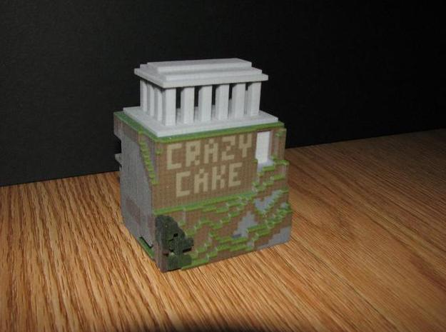 Parthecube 3d printed West Side