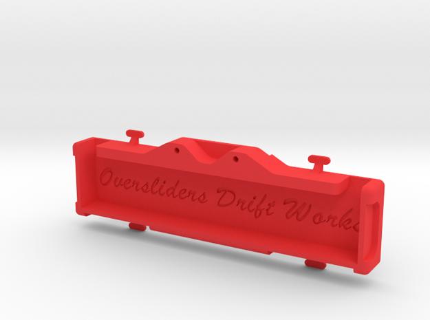 YOKOMO DP FULL REAR TRAY in Red Processed Versatile Plastic