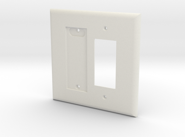 Philips Hue Dimmer Plate 2 Gang Decora Switch Plat