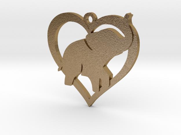 Cute Baby Elephant Pendant