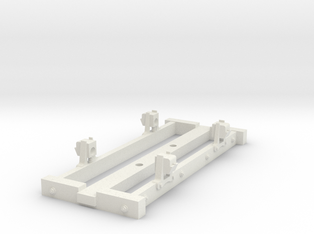 On18/09  9ft 4w wooden chassis  in White Natural Versatile Plastic