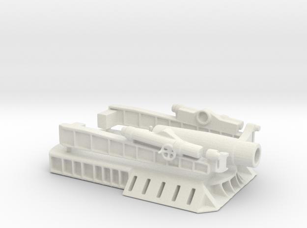 370 Filloux mortar 1/100 in White Natural Versatile Plastic