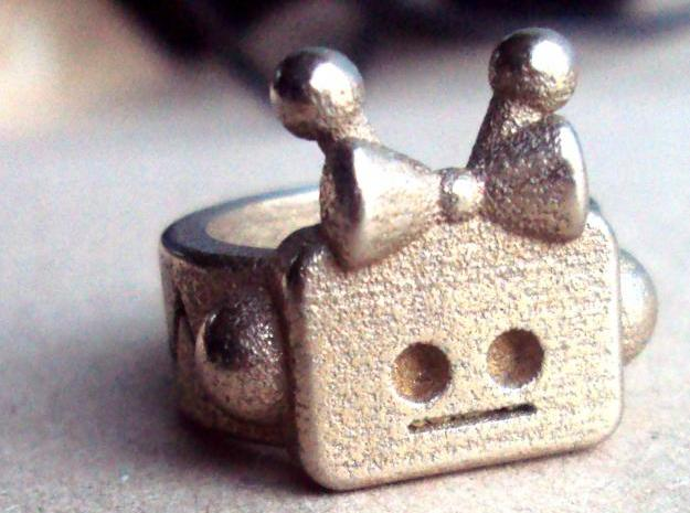 Girl Robot Ring